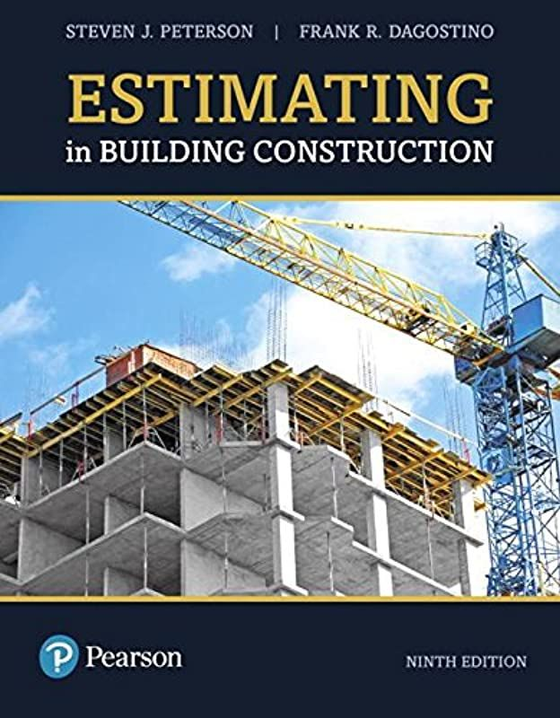 Get Book Estimating In Building Construction 9th Edition What S New In Trades Technology By Building Construction Construction Read Books Online Free