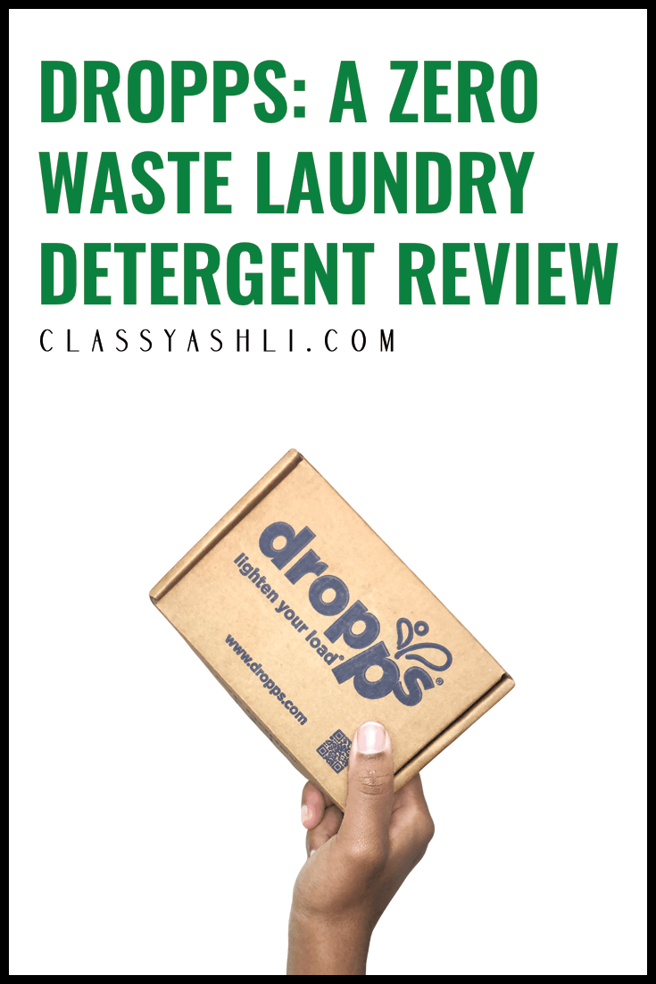 Dropps Review A Zero Waste Laundry Detergent In 2020 Laundry