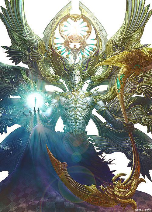 Bhunivelze - God of Light in 2019 | Final fantasy artwork ...