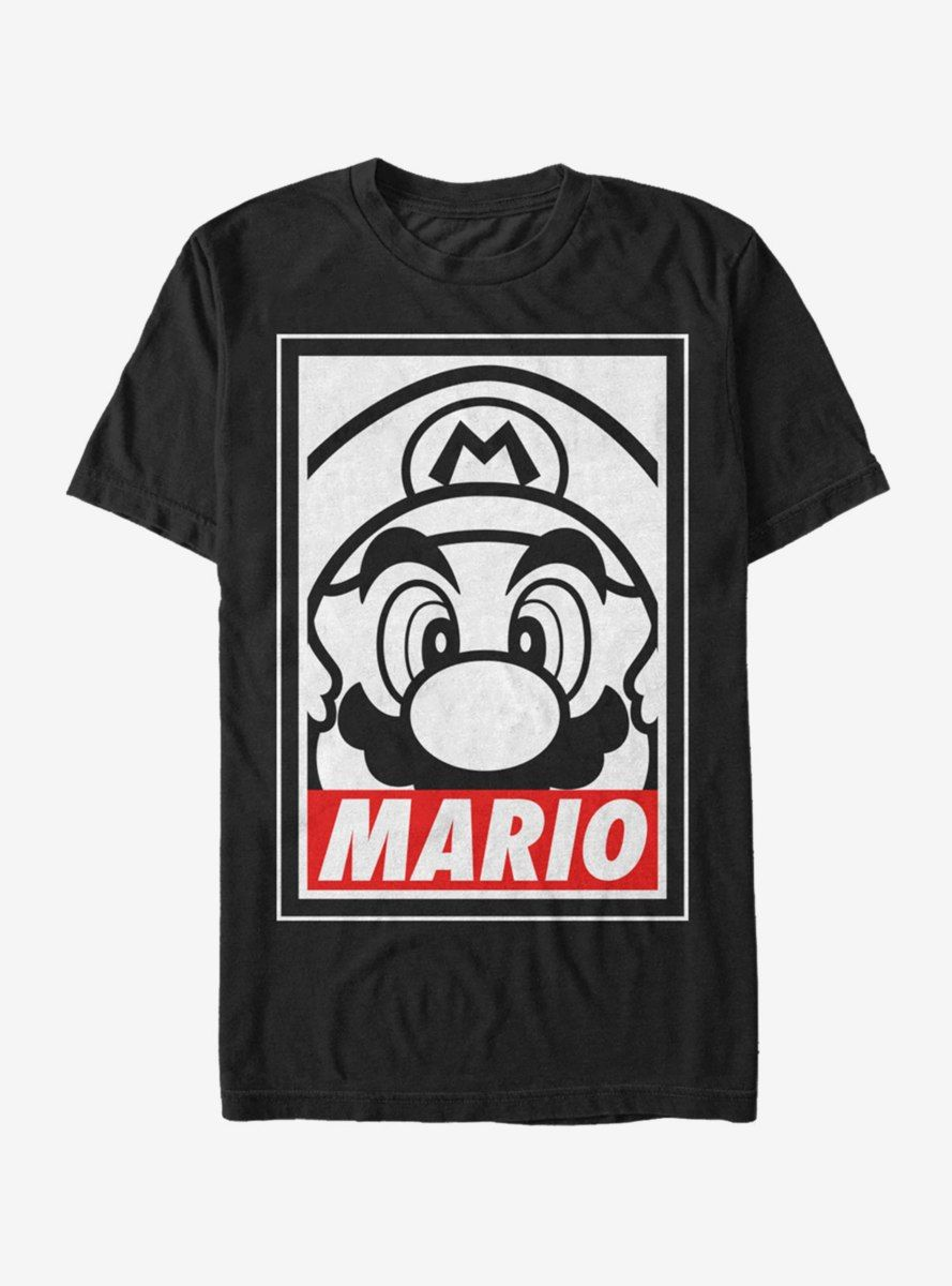 Nintendo Mario Close Up T Shirt Mario Shirt Gaming Shirt T Shirt [ 1200 x 889 Pixel ]
