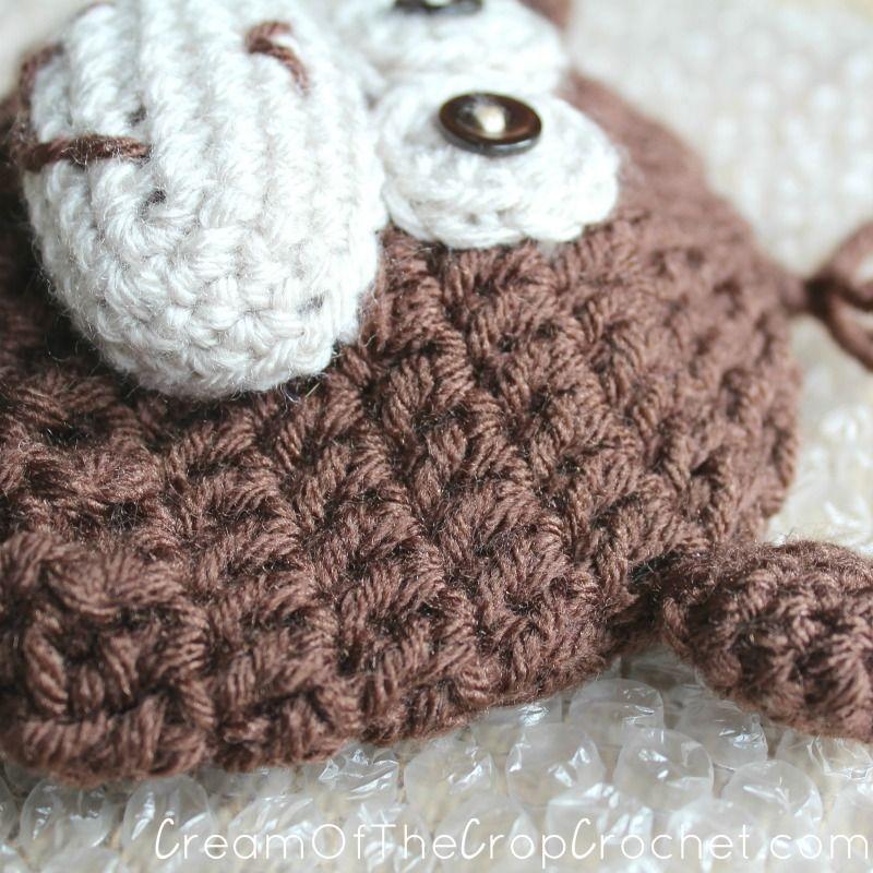 Cream Of The Crop Crochet Preemienewborn Monkey Hats Free