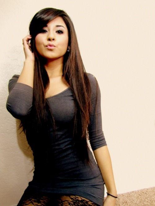 Beautiful Filipina Girls In A Sexy Black Dress Pinay