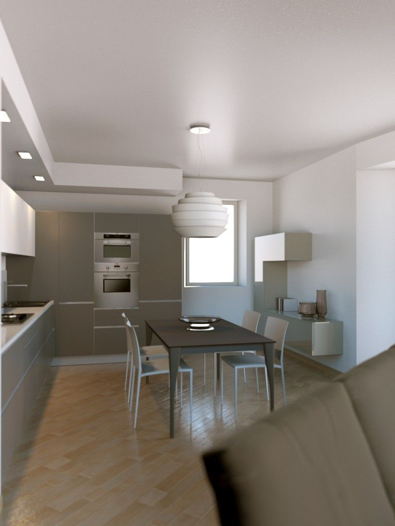progetto cucina Valcucine, soggiorno Lago e divano Saba in ...