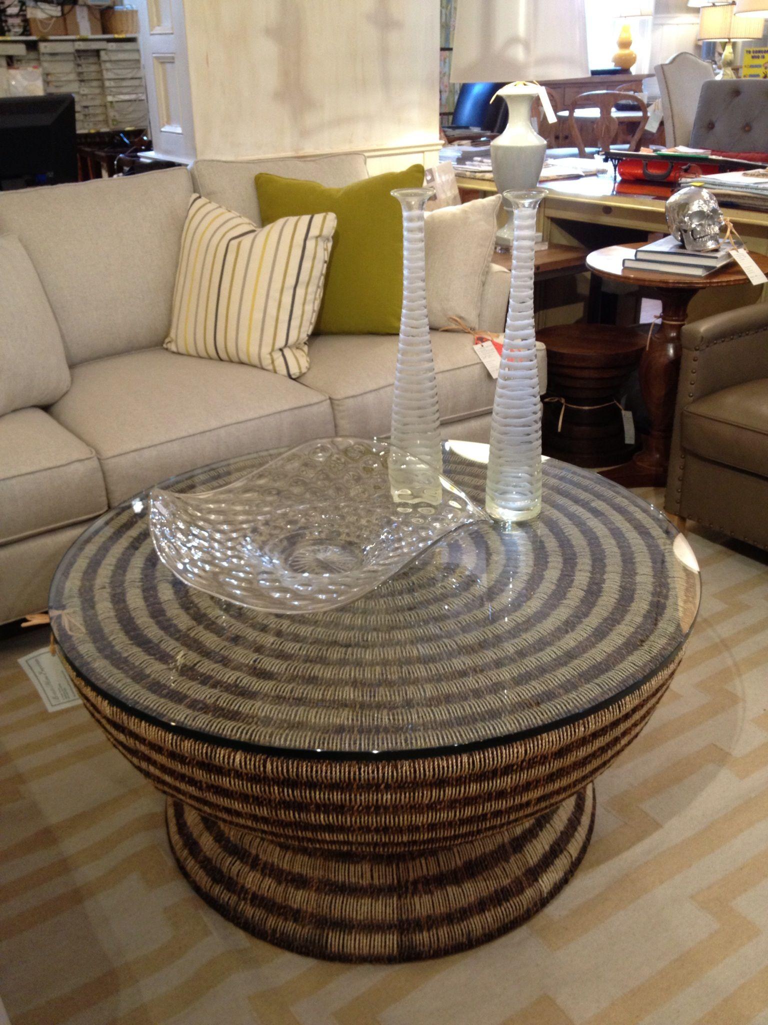 20++ Woven coffee table ottoman inspirations
