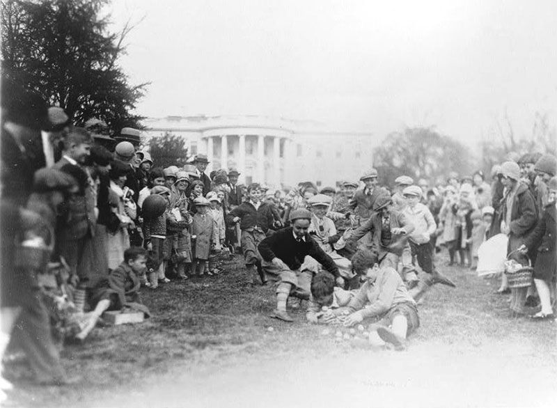 With Easter comes the 137th-annual White House Easter Egg Roll