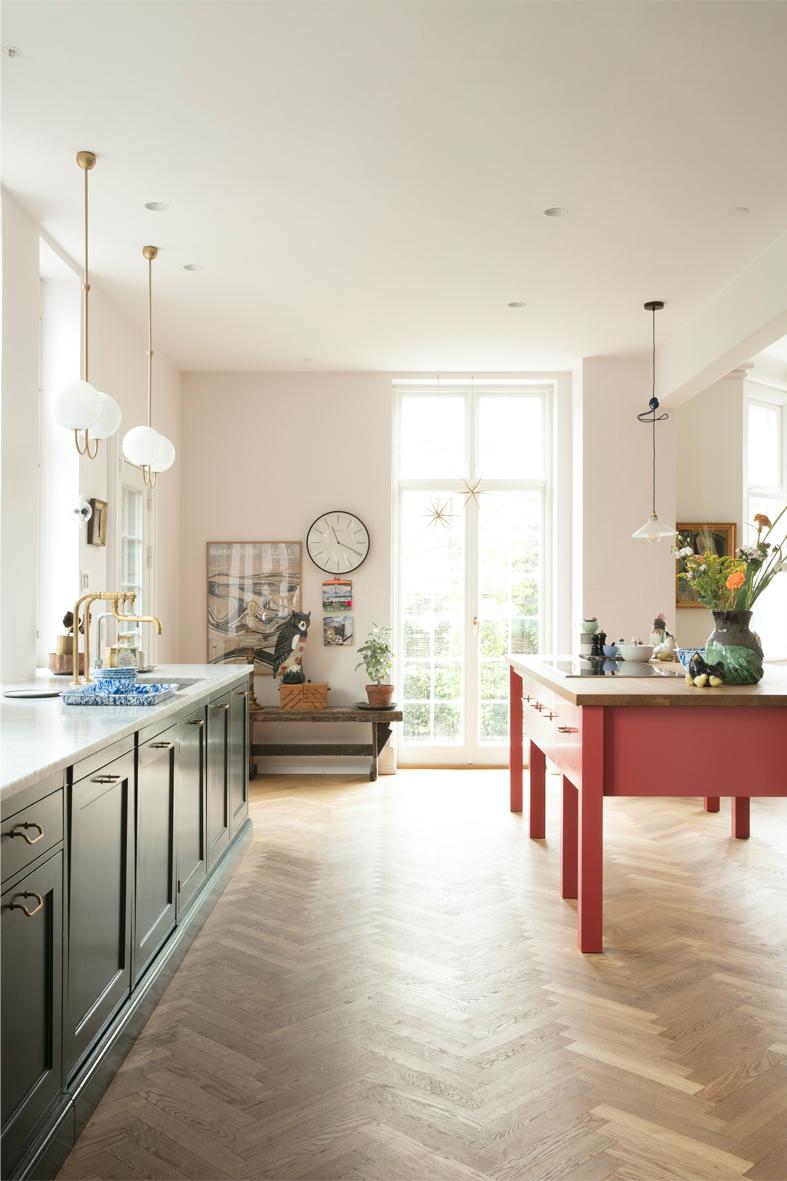 Hjemme hos Sara: Køkkenet | Villas, Kitchens and House