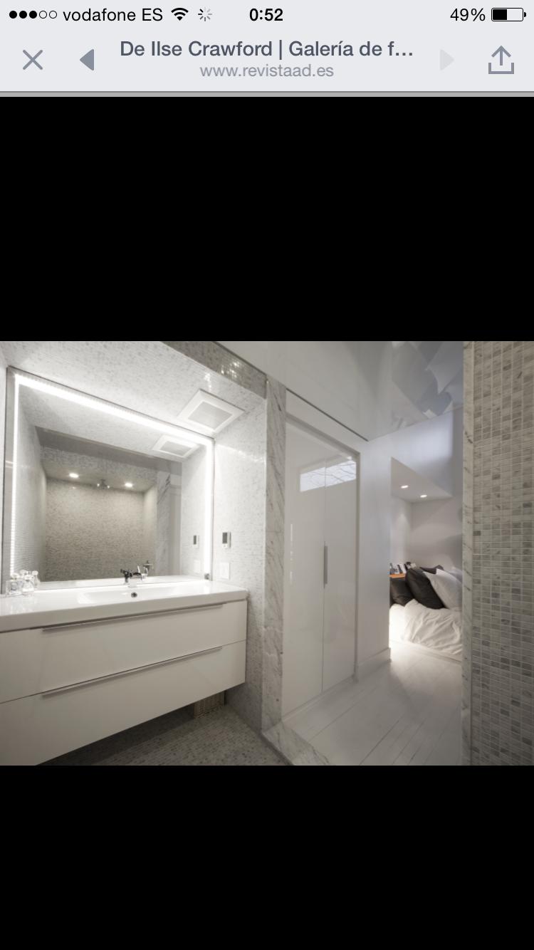 Luz espejo pared | Espejos de pared, Espejos, Pared