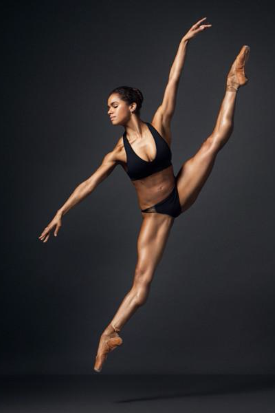 2dff3000dfd2 Ballerina Misty Copeland s crazy-toned body still blows our minds.