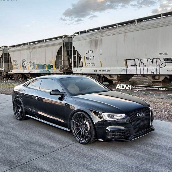 Black On Black Audi Rs5 Photo Ronnierenaldi Wheel Specs Adv5 0 M V2 Cs Exposed Hardware Finish Matte Black 21x10 5 21x11 Www Thewheelindustry Com