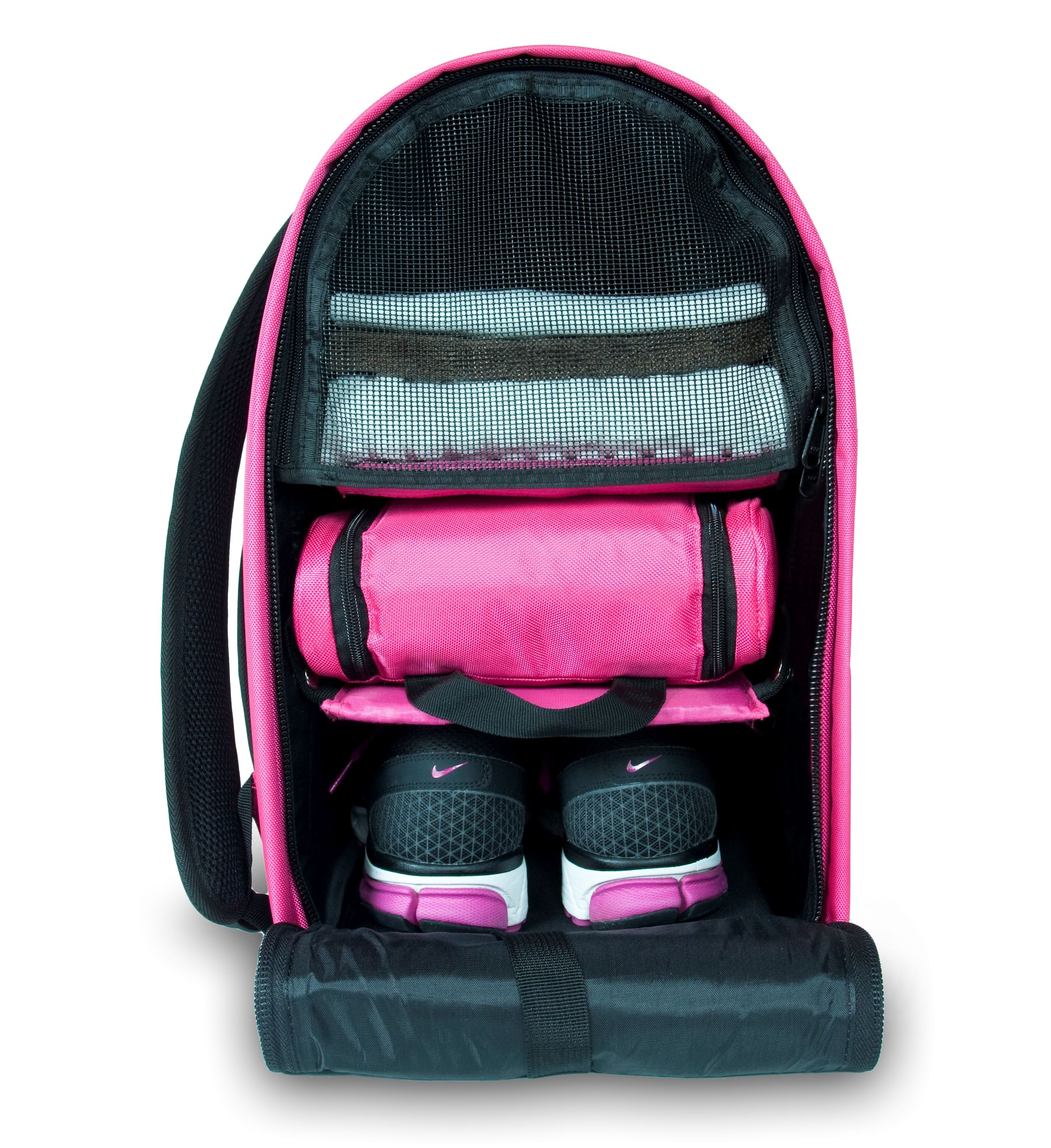 9767d71a29 Item of the Day  Glo bag - a backpack that can help you organize all your  gym essentials.