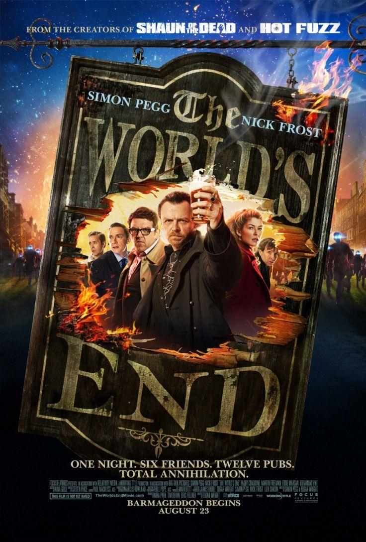 The World's End es lo nuevo de Simon Pegg, aquí les dejamos el póster de la película.