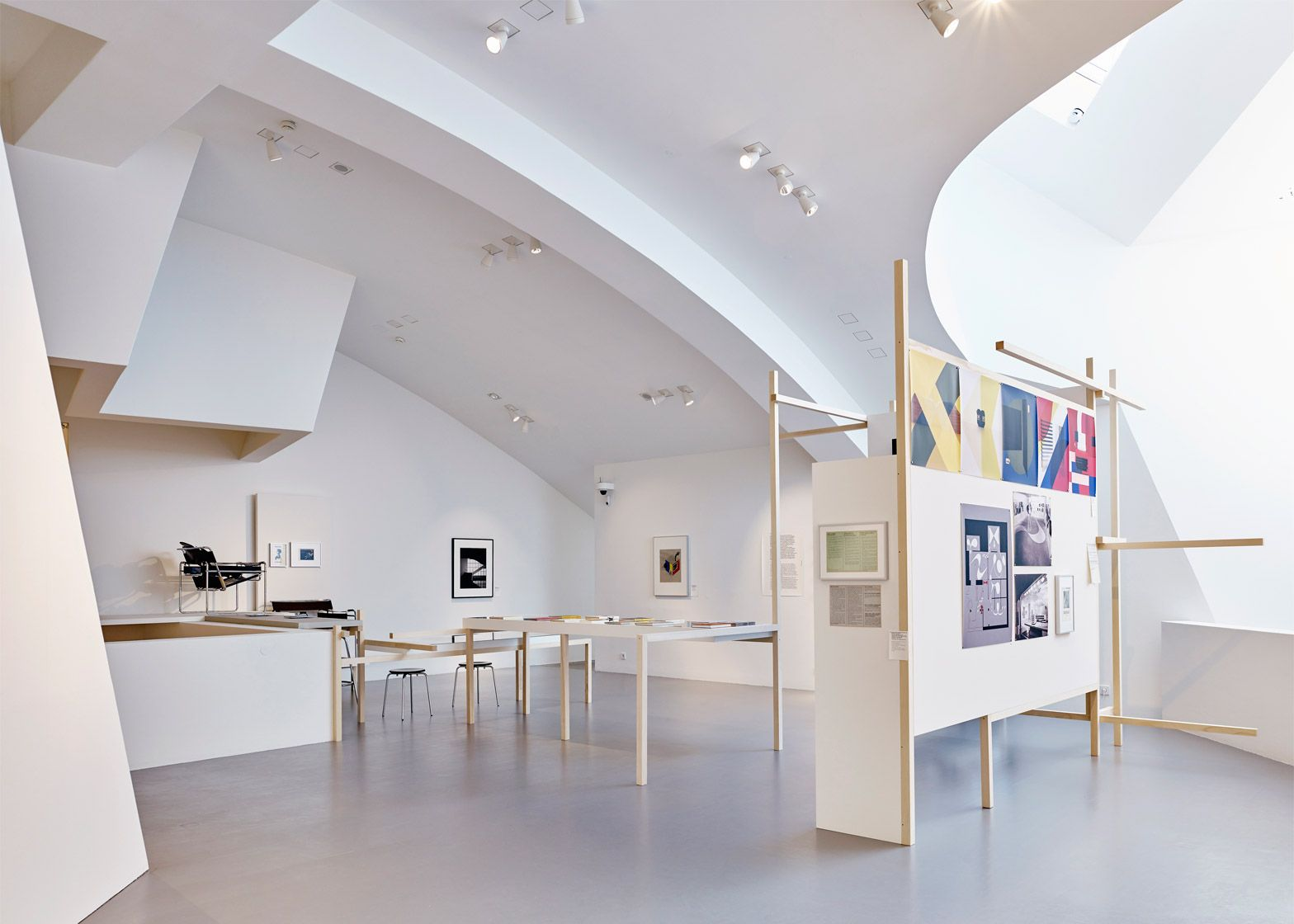 Vitra Design Museum Gallery Installation Shot Of The Bauhaus Retrospective At The Vitra Design