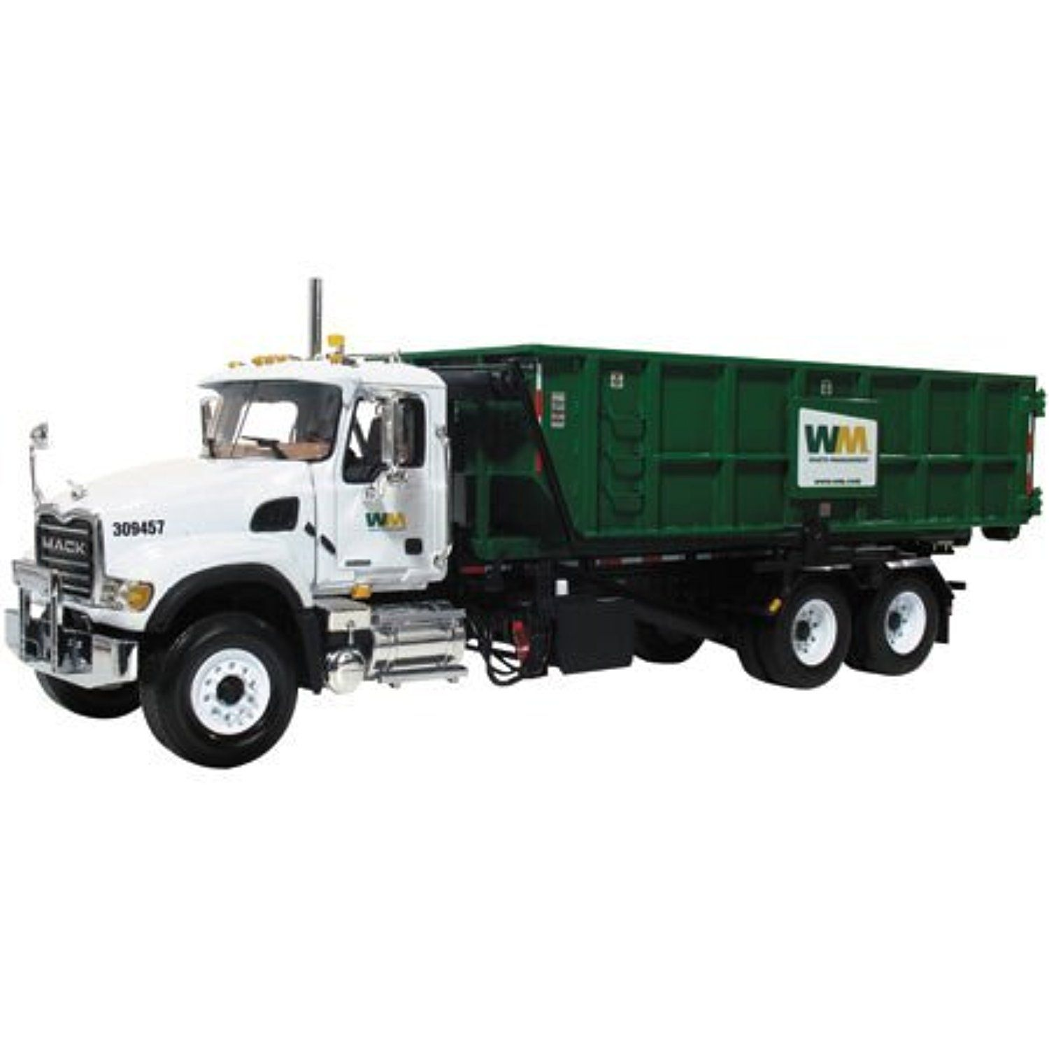 Mack Wm Granite Roll Off Refuse Garbage Truck 1 34 19 3441a By Waste Management Awesome Products Selected By Anna Churchill Trucks Garbage Truck Garbage