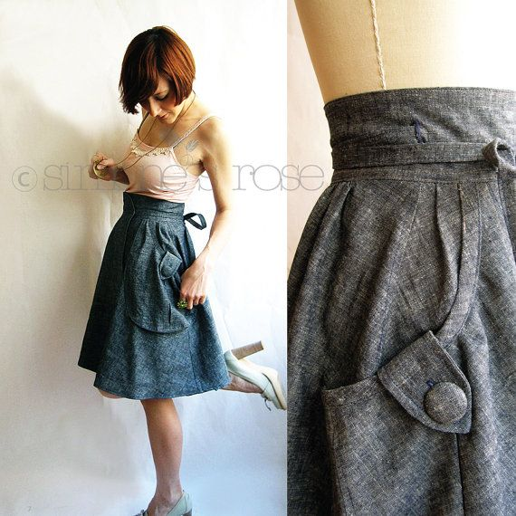 Organic Denim Jean Skirt - Hemp & Organic Cotton | Hemp | Pinterest ...