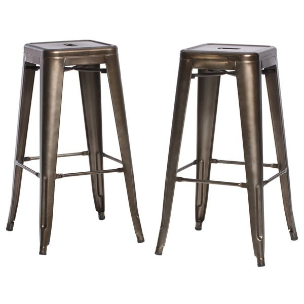 tabouret 30 inch vintage and gunmetal bar stools set of 2 jasons