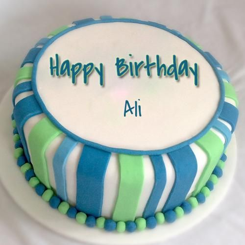 Happy Birthday Wishes Cake For Ali Ali Pinterest Birthday