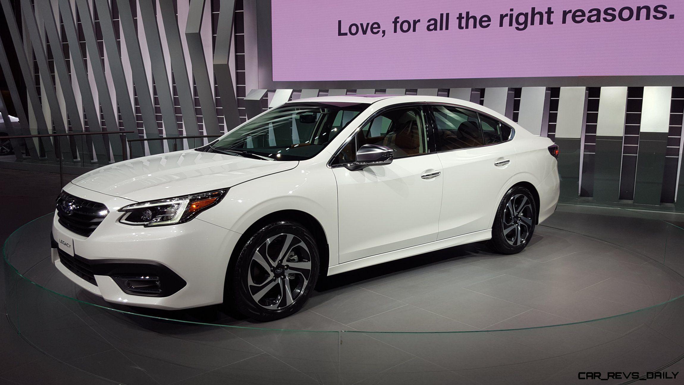 2020 Subaru Legacy Brings Big Screen And Turbocharged Power To Eager Buyers Video Subaru Legacy Subaru Car
