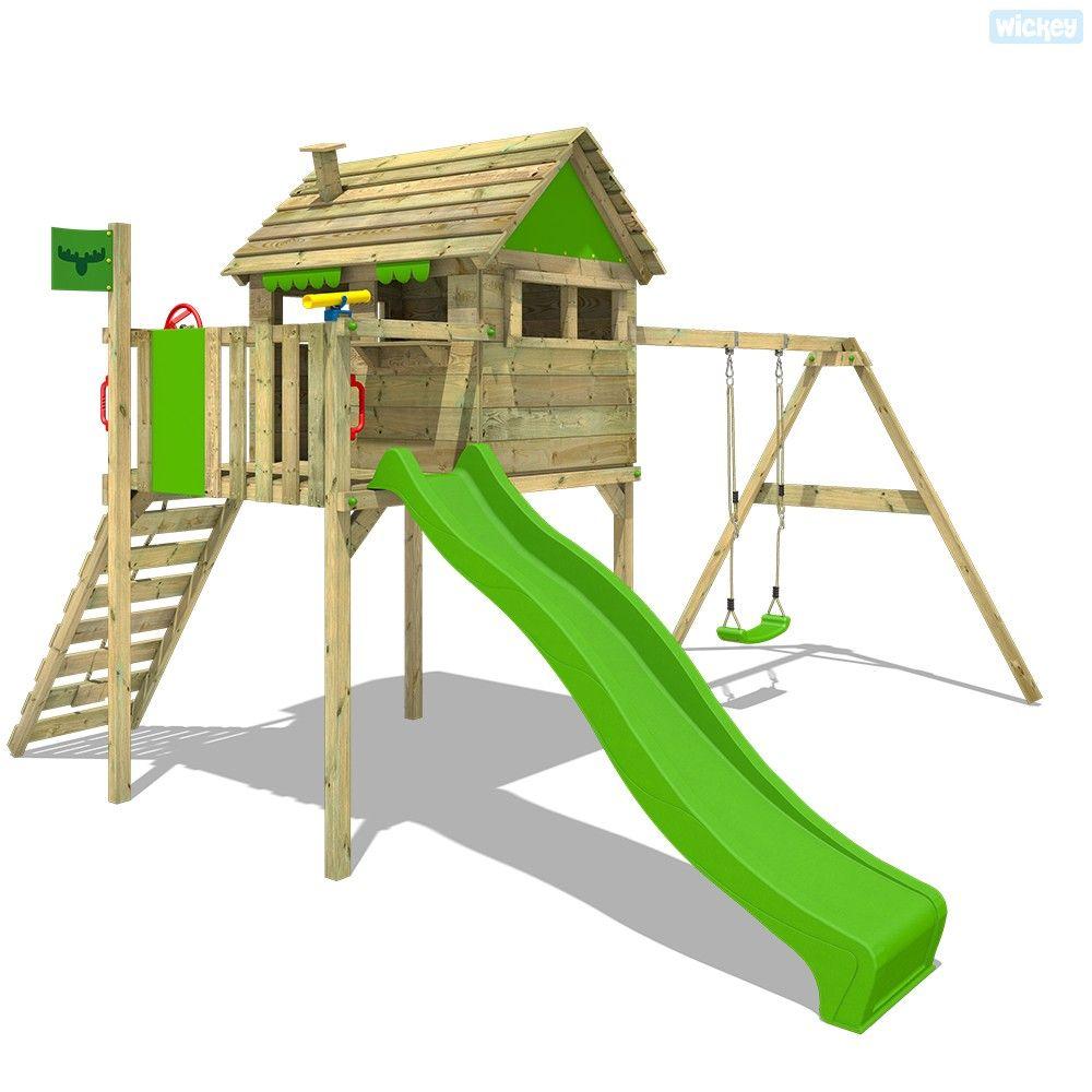 Giochi Per Bambini In Giardino parco giochi per giardino funfactory fit xxl con altalena