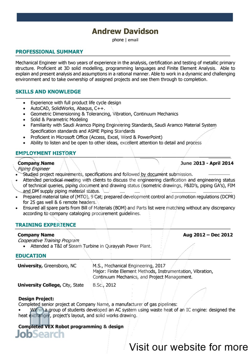 Resume For Engineering Internship Students 2020 Resume For Engineering Resume For Engineerin In 2020 Engineering Internships Student Resume Student Resume Template
