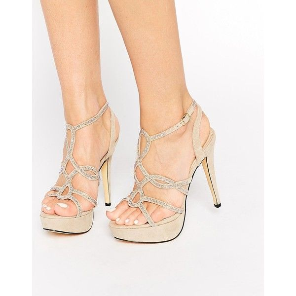 31e60cd82be Ravel Platform Sequin Strappy Heeled Sandals ( 62) ❤ liked on Polyvore  featuring shoes