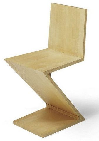Gerrit Rietveld Zig Zag Chair Zigzag Chairs Chair Iconic Chairs
