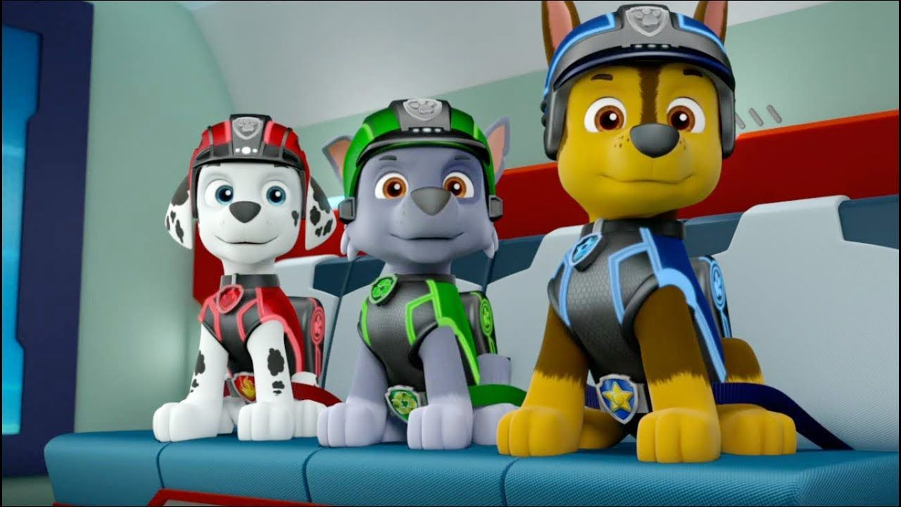 Paw Patrol Mission Paw Pups Save The Day Paw Patrol Movie For