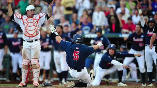 College Baseball Live Updates From College World Series 2015 Virginia Forces Vanderbilt Baseball College Baseball Vanderbilt College World Series