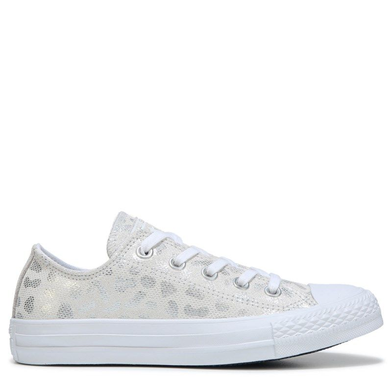 Women's Chuck Taylor All Star Print Low Top Sneaker #whiteallstars