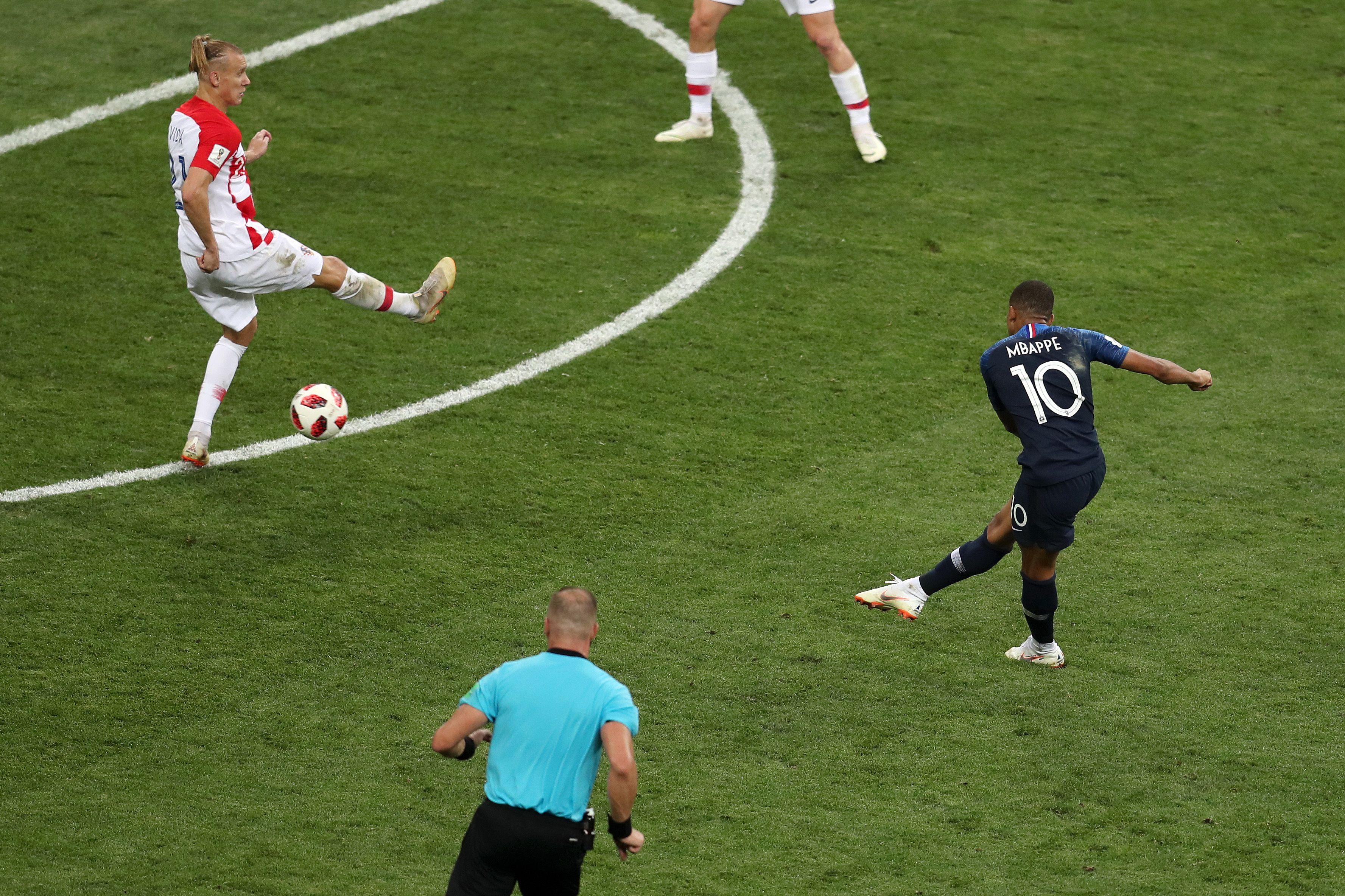 Final Match Fifa World Cup 2018 France Won The World Cup 2018 France Beat The Croatia 4 2 In World Cup 2018 Fifa World Cup Fifa World Cup