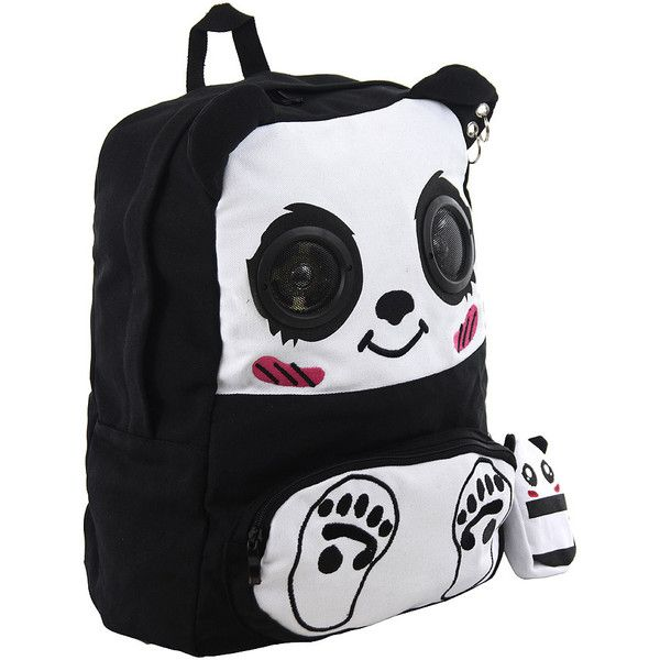 Alternative bags, speaker bag, school backpacks, emo bags UK ($45) ❤ liked on Polyvore