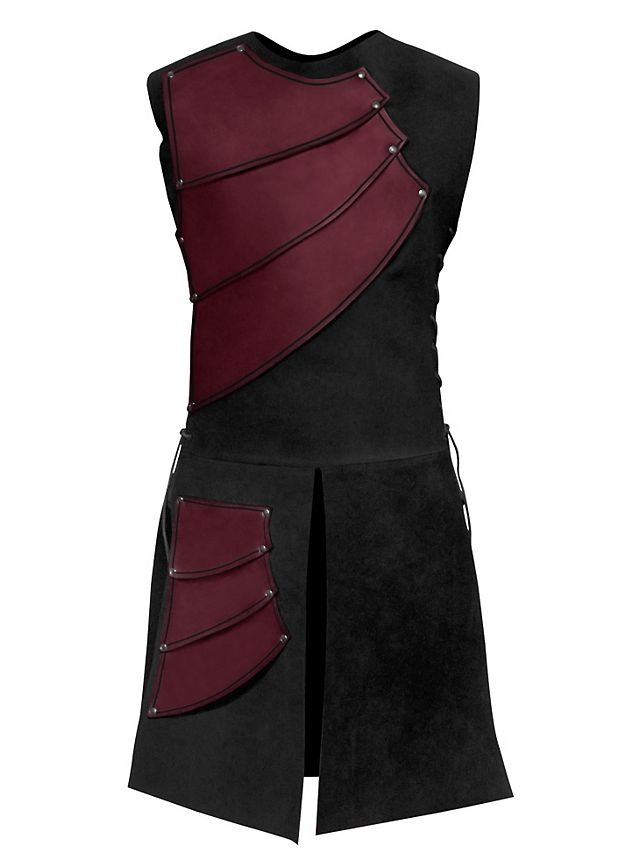 Archer Leather Armour red
