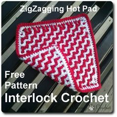 This pattern uses a technique called Interlock Crochet. Please read The Beginner's Guide to Interlock Crochet if you have questions about ...