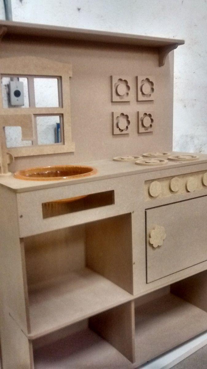 Mini Cozinha Infantil Mdf Pesquisa Google Artes Em Madeira