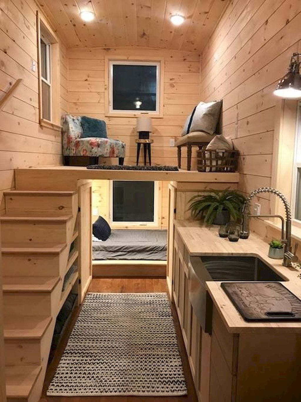 60 Amazing Tiny House Bedroom Ideas Tiny House Interior Design In 2020 Diy Tiny House Tiny House Design Tiny House Interior Design