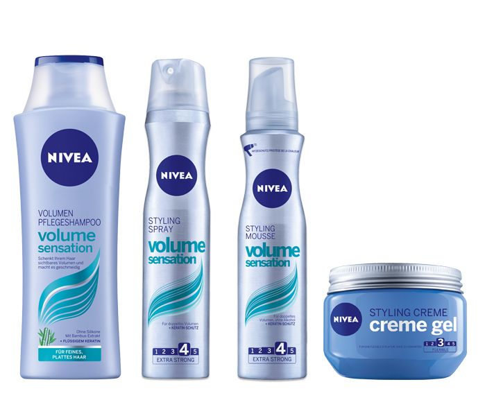 "For ""Rock Chic"" we recommend the following  NIVEA products: 1. NIVEA Volume Sensation Shampoo, 2. NIVEA Volume Sensation Mousse, 3. NIVEA Volume Sensation Spray, 4. NIVEA Styling Creme Gel #nivea #hair #style #rock"