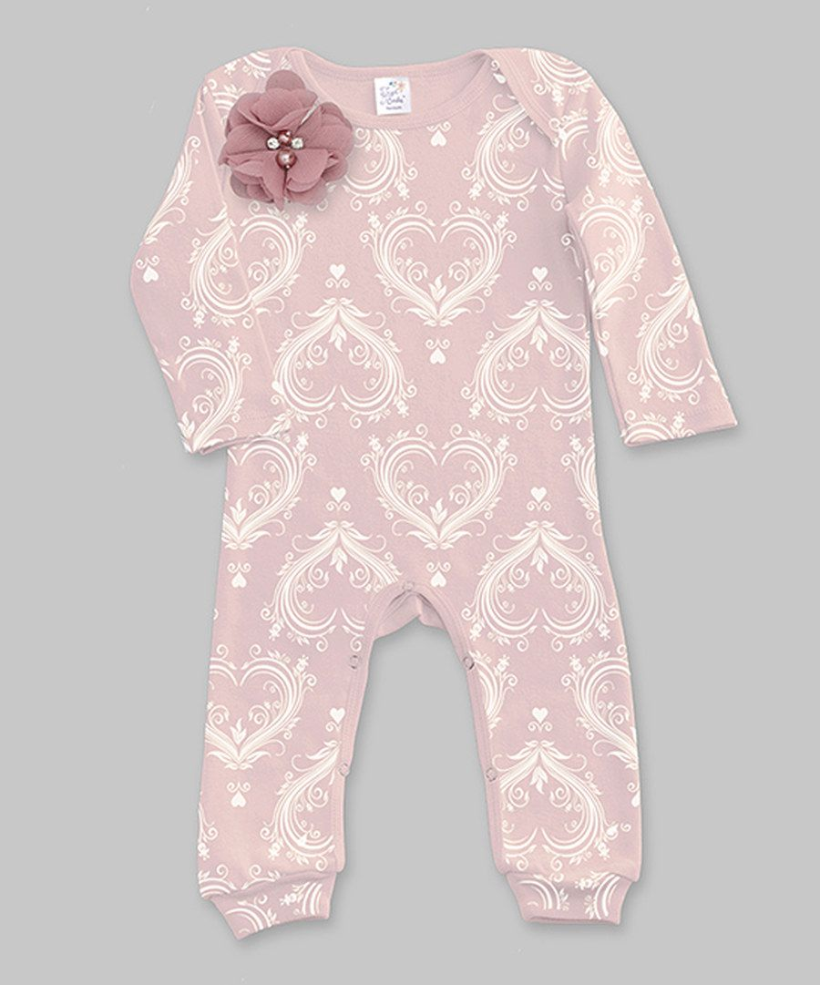 Look at this Tesa Babe Pink Amore Romper - Infant on #zulily today!
