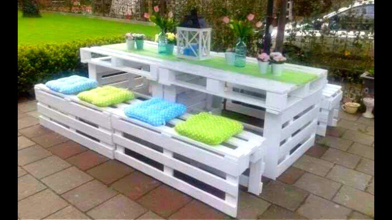 Pallet Furniture : 12 Creative DIY Pallet Furniture Ideas 12