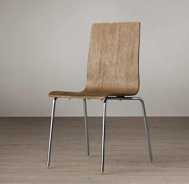 Dining Chairs in weathered black like picture on restoration ...