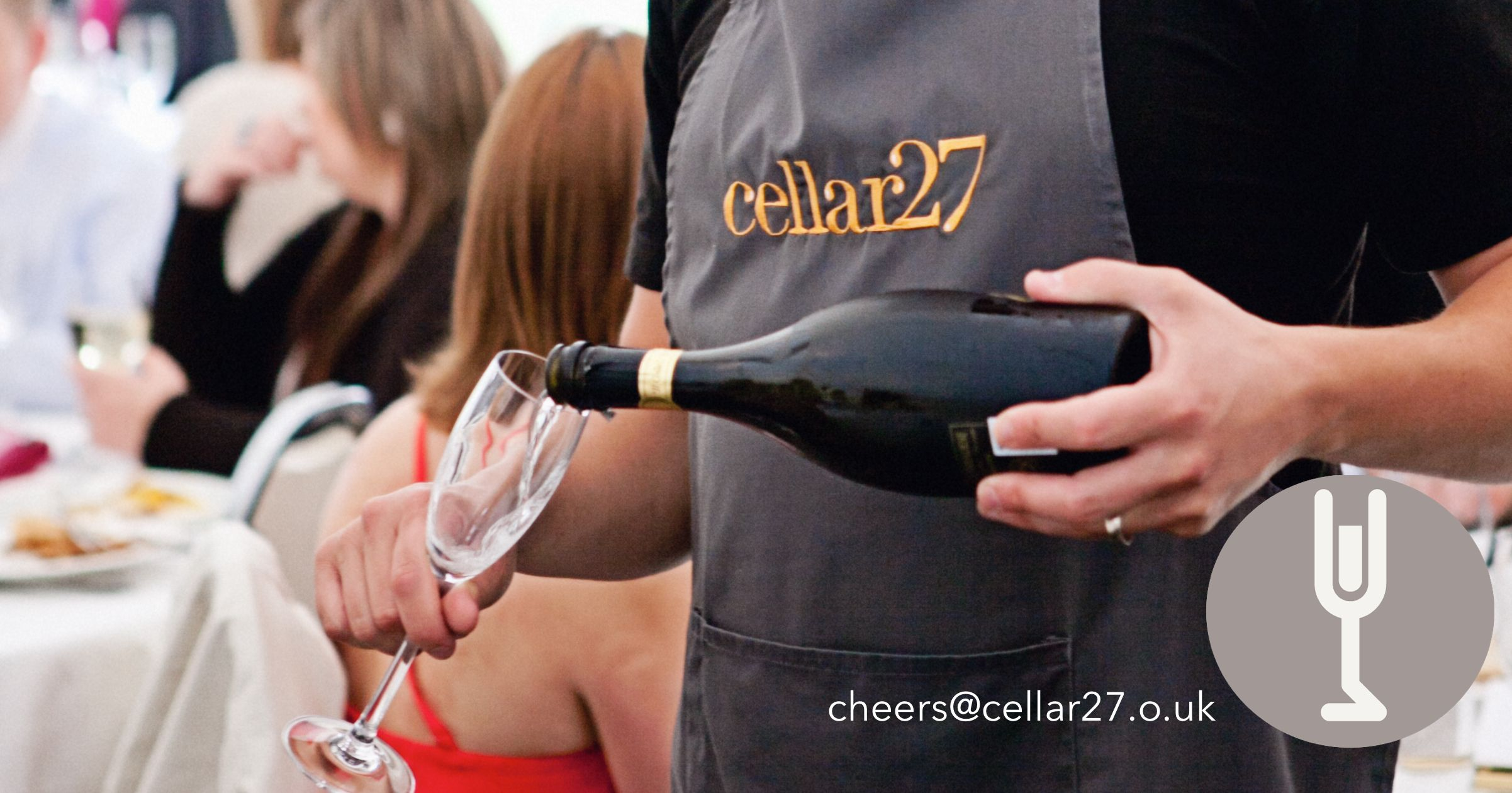 Prosecco poured by Cellar27