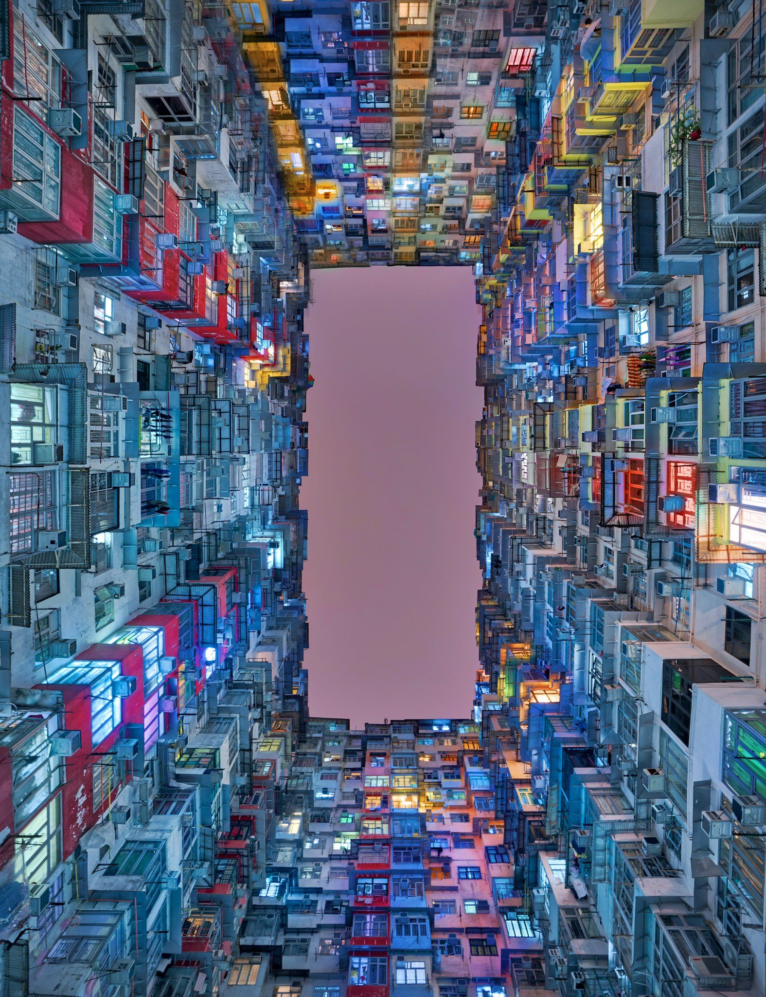 Welcome To One Of Hong Kong S Most Instagrammable Locations The Monster Building At Yik Cheong And Montane Mansion Tog Photo City Aesthetic Cyberpunk City