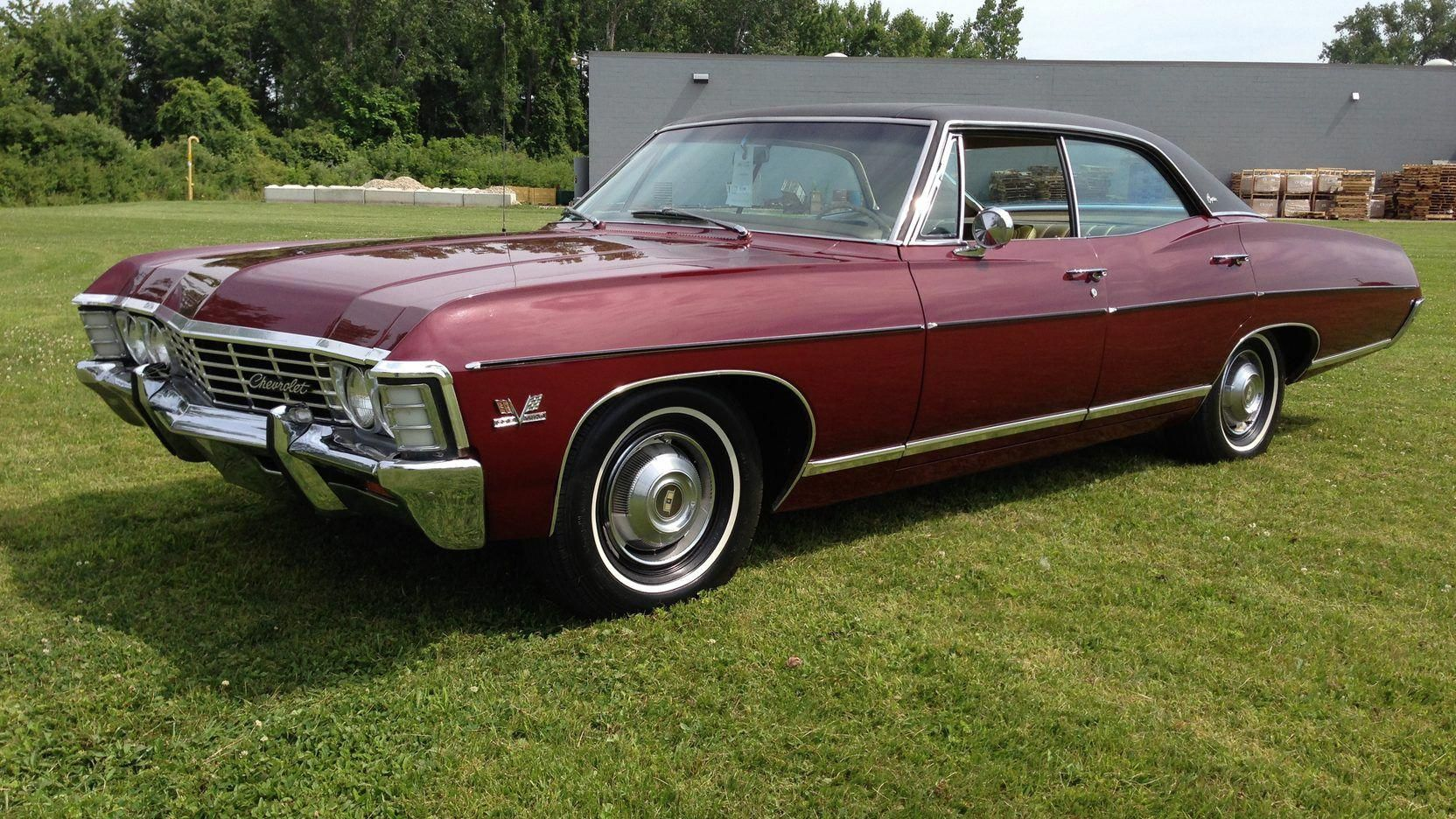 1967 Chevrolet Caprice 4 Door Hardtop Presented As Lot T116 At