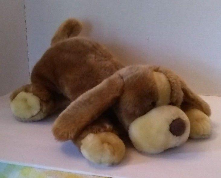 Animal Alley Darby Plush Hound Dog 19 Brown 2000 Lying Stuffed Toys