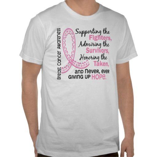 Fighters Survivors Taken 4 Breast Cancer Tshirt