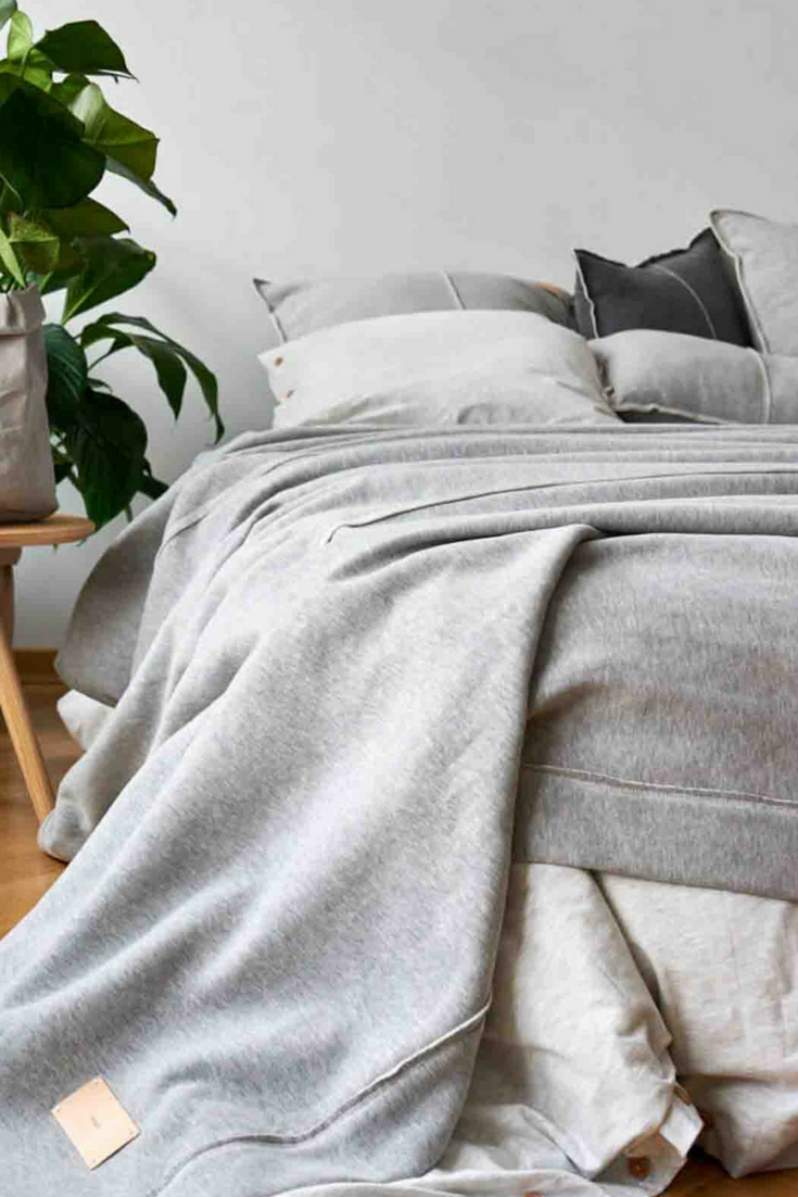 Ikea Sprei 2 Persoons.Sprei Lichtgrijs Tricot Chillout 1 Persoons 150 250 Cm In 2019