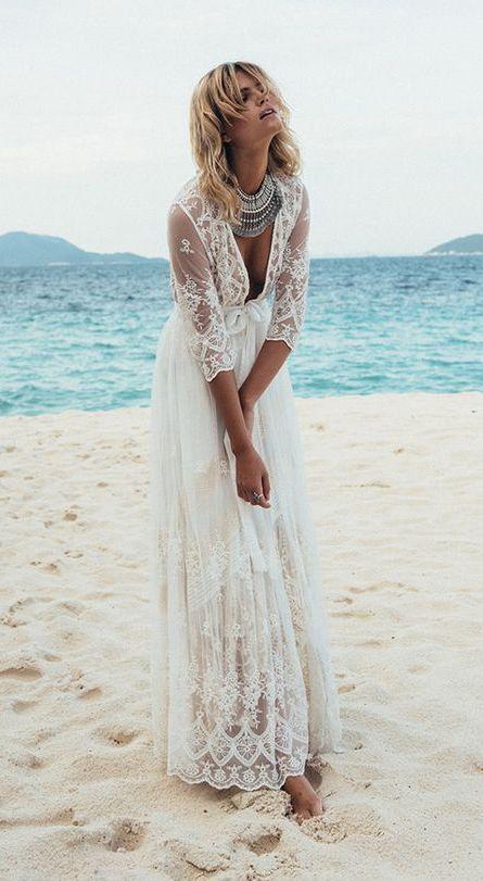 Strand-Brautkleider-18 | wedding | Pinterest | Wedding and Bridal ...