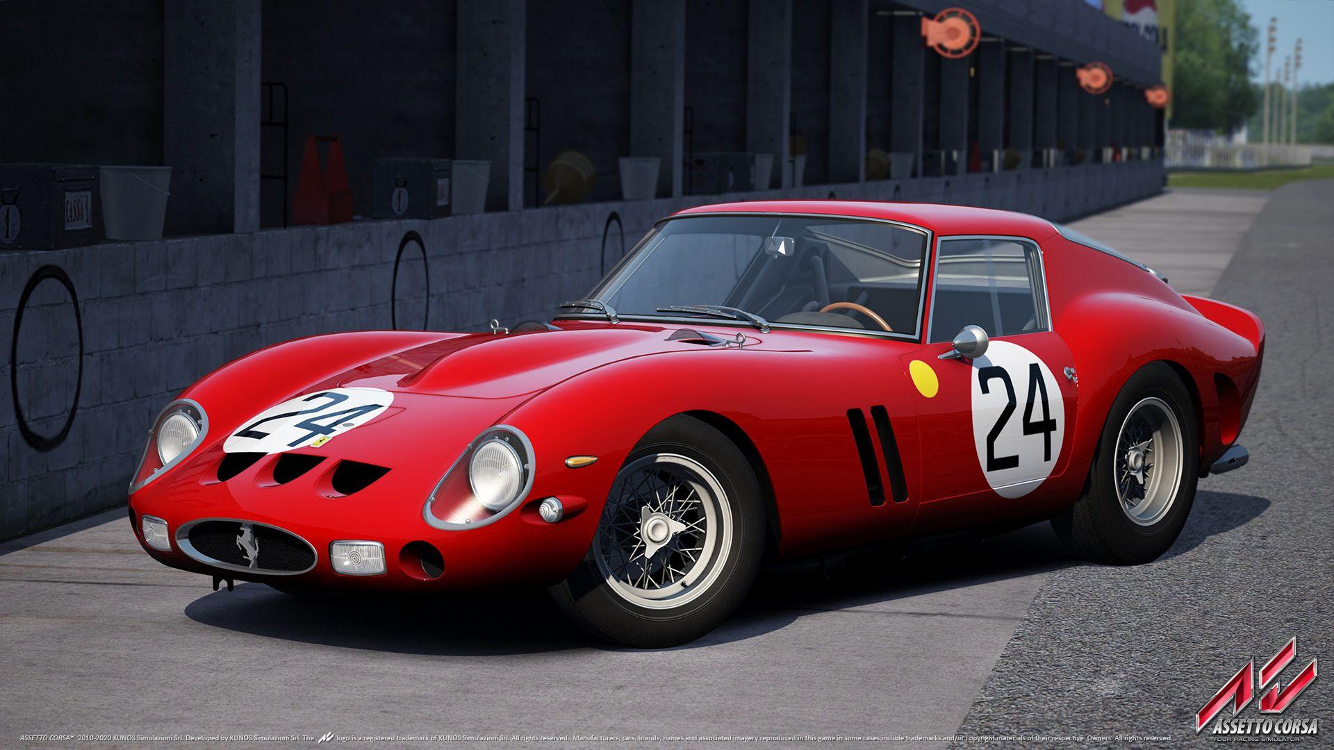 Assetto Corsa Official Wallpapers 1962 Ferrari 250 Gto Com