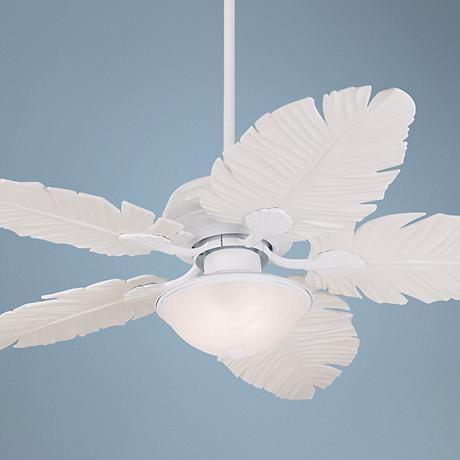 52 Casa Vieja Outdoor Palm Leaf Ceiling Fan 9t626 Lamps Plus Ceiling Fan Tropical Ceiling Fans Ceiling Fan With Light White outdoor ceiling fan with light