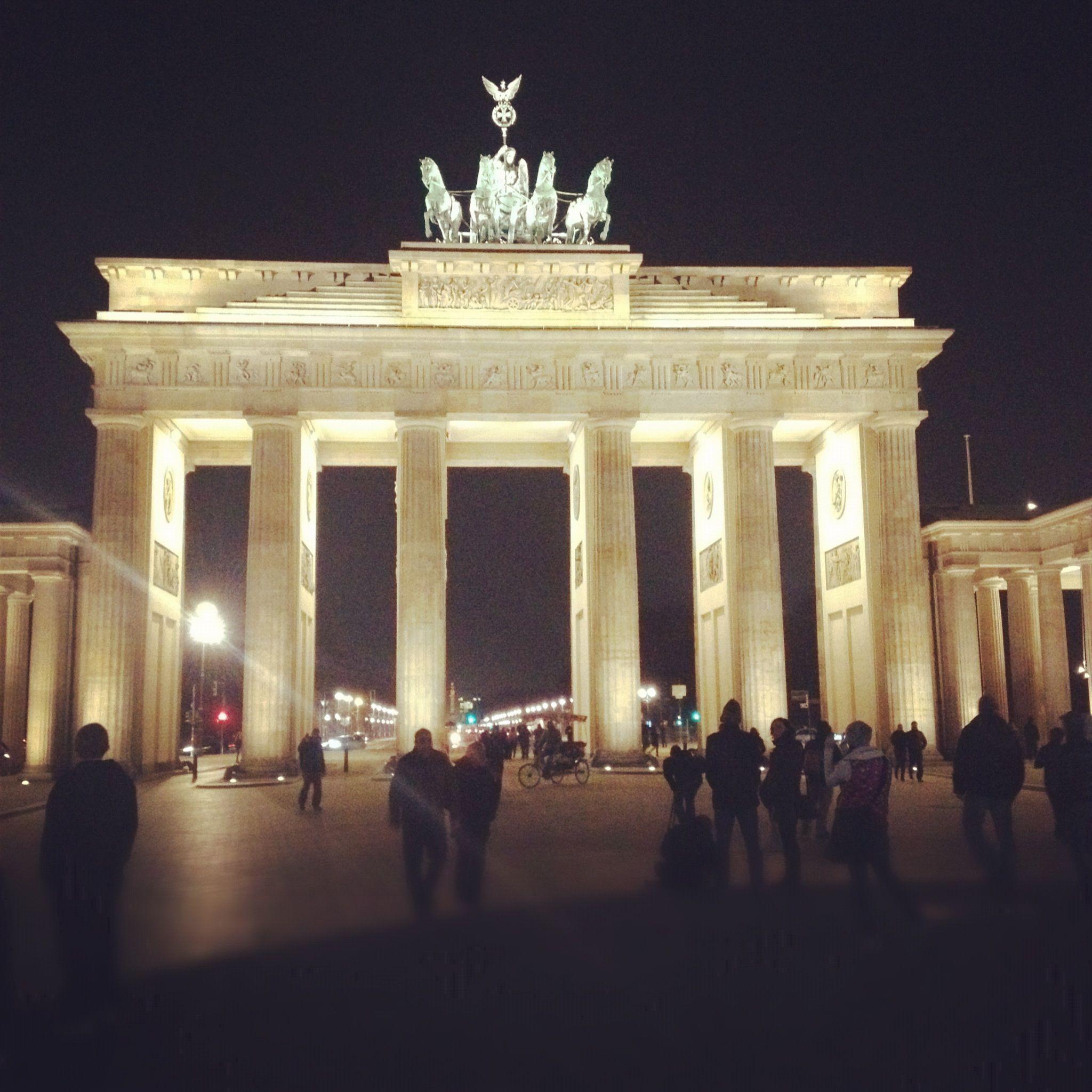 Brandenburger Tor By Night Berlin