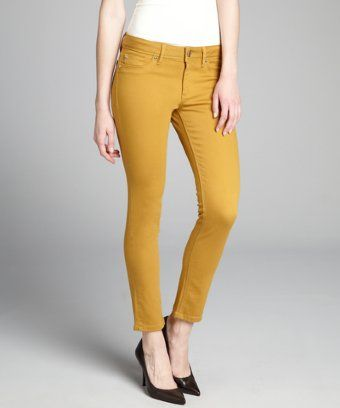 DL1961 PREMIUM DENIM INC sunflower stretch denim mid-rise Angel skinny ankle jeans Review Buy Now