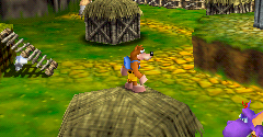 Nintendo 64 Banjo Kazooie Super Smash Bros Video Game Sprites